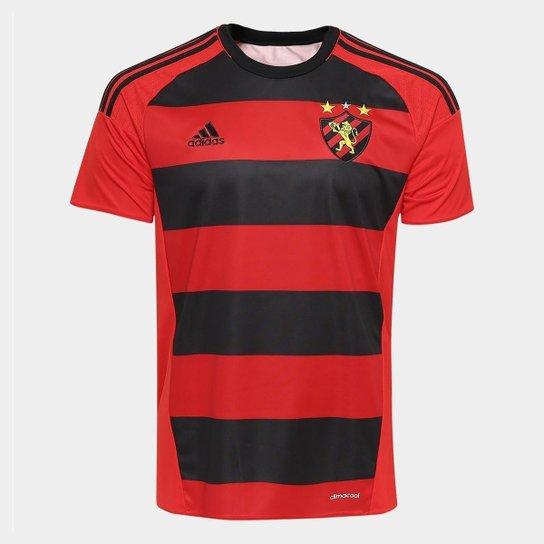 a887450b60707 Camisa Sport Recife I 2016 s nº - Torcedor Adidas Masculina - Vermelho+Preto