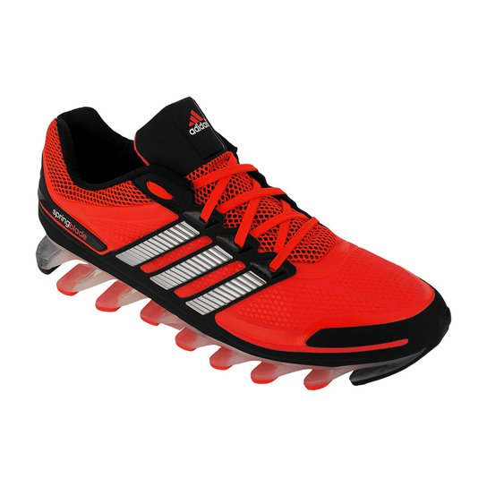 Tenis Running Adidas Springblade - Vermelho+Preto 48167b42540f3