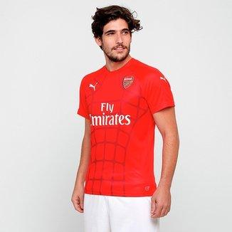 Camisa Arsenal Puma Stadium EPL Masculina 20ecd456481c8