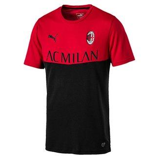 f7c296f50d9ab Camisa Milan 18 19 Fanwear Torcedor Puma Masculina