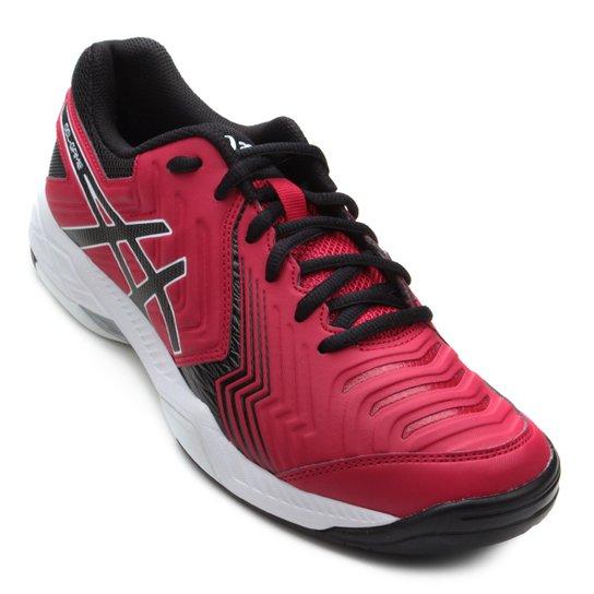 Tênis Asics Gel-Game 6 Masculino - Vermelho e Preto - Compre Agora ... 95f51d70746d1
