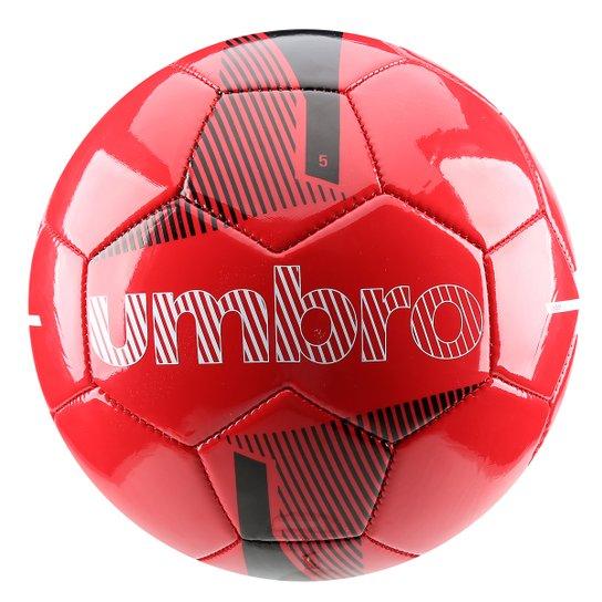 25803a8168 Bola Futebol Umbro Veloce Supporter Campo - Vermelho+Preto