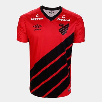 Camisa Athletico Paranaense I 19/20 s/nº Jogador Umbro Masculina
