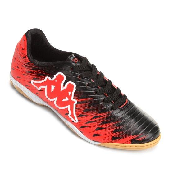 6c20b61df9 Chuteira Futsal Kappa Thunder - Vermelho e Preto - Compre Agora ...