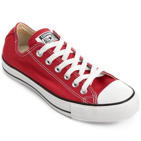Tênis Converse All Star Ct As Core Ox - Vermelho e Preto - Compre ... 5e132767f6380