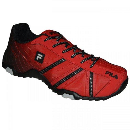 c725c4e4628 Tênis Fila Slant Summer 2.0 - Vermelho e Preto - Compre Agora
