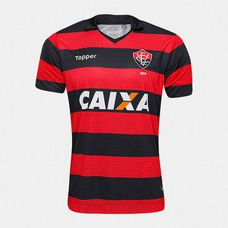 Camisa Vitória I 17 18 s n° - Torcedor Topper Masculina 2750f63b3a5a8