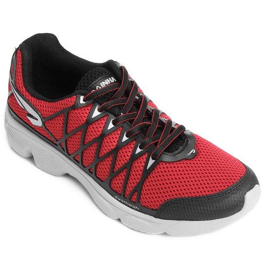 4ec49f28873 Tênis Rainha Fast Masculino - Vermelho+Preto