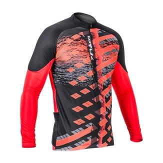 Camisa Ciclista C  Ziper M L Freeride 1be545841f1c8
