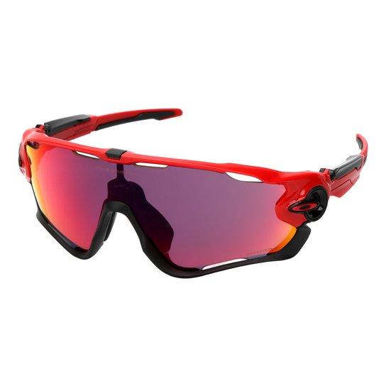 6c9e596273614 Óculos Oakley Jawbreaker - Prizm Road - Vermelho+Preto