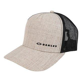 Boné Oakley Aba Curva Mod Chalten Cap Masculino b1072fc4a6d