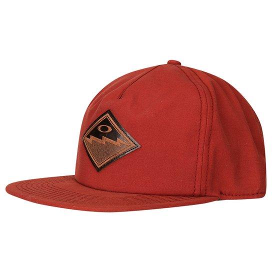 Boné Oakley The Point Hat - Vermelho e Preto - Compre Agora  90dc232adb4