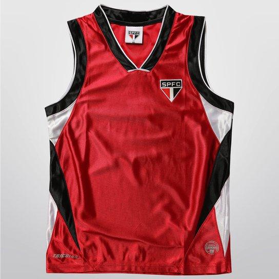 d46c64c8c6803 Camiseta Regata São Paulo Trilobal Basket Juvenil - Compre Agora ...