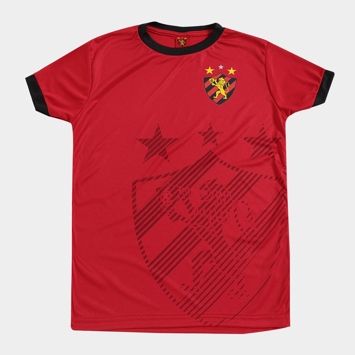 3ae12d1341 Camisa Infantil Sport Recife Shadow
