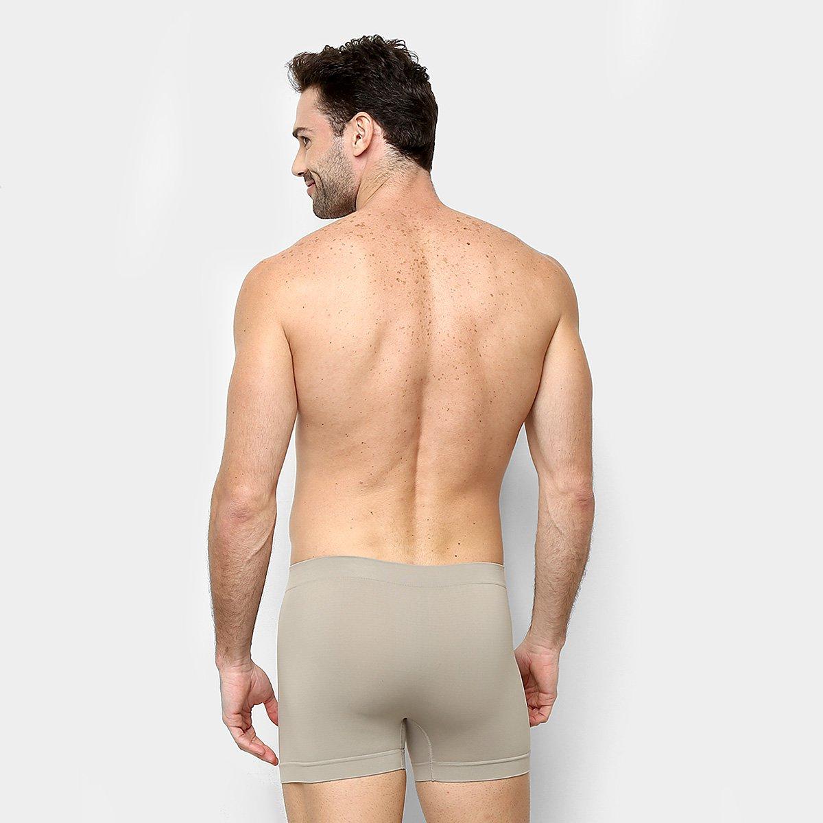 Cueca Boxer Sem Costura Lupo Masculina - Tam: P - 2