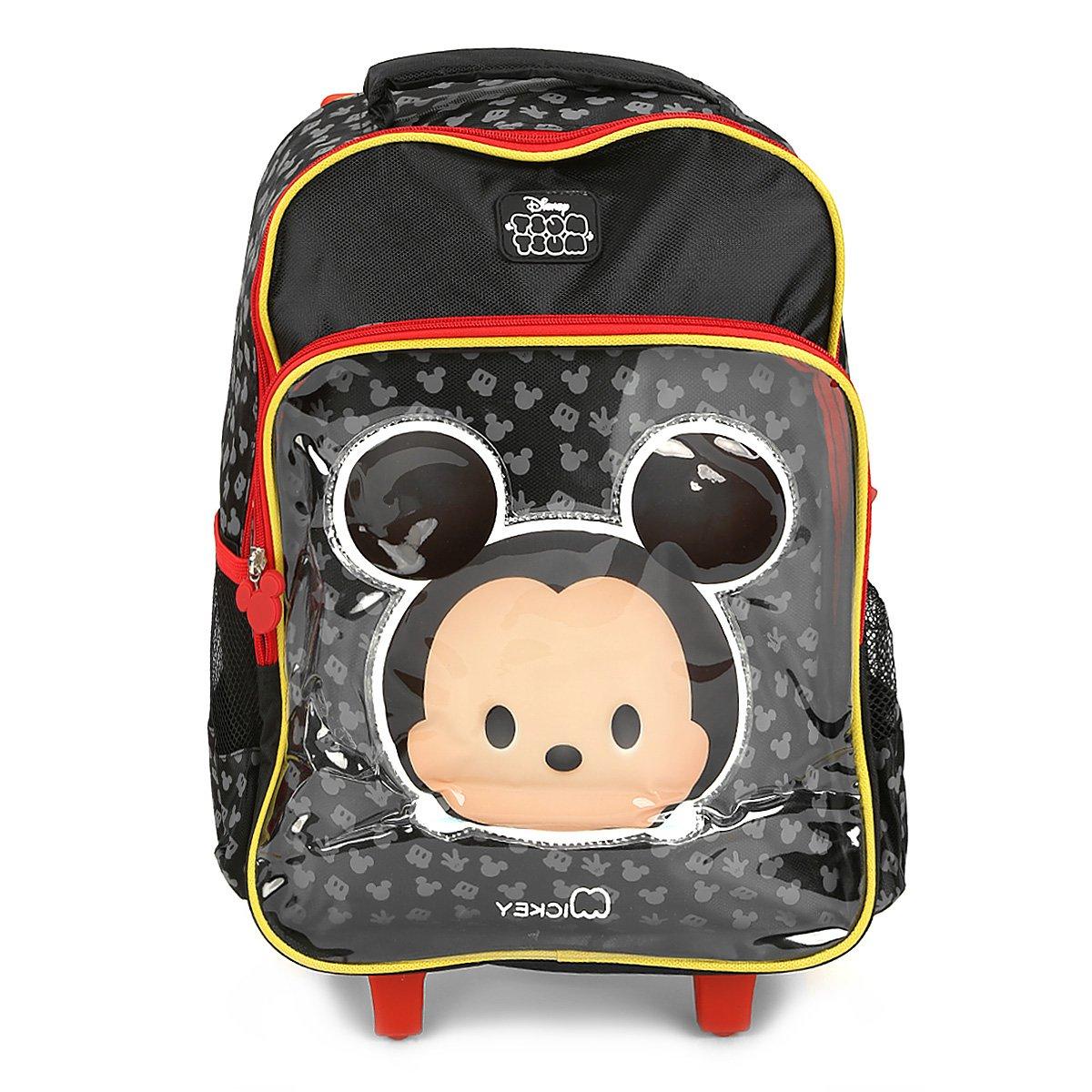 5ddab6147 Mochila Infantil Luxcel de Rodinhas Mickey Tsum Tsum | Livelo -Sua ...