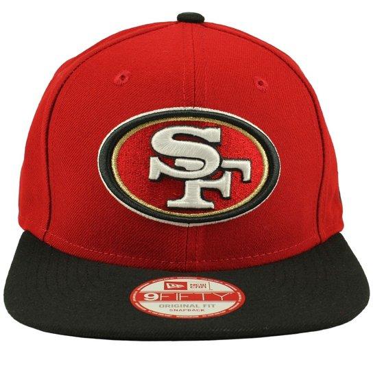 Boné New Era 950 of sn Classic Team San Francisco 49ers - Vermelho e ... 829c9e14f24