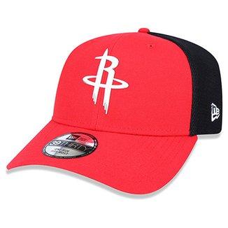 Boné New Era NBA Houston Rockets Aba Curva 3930 e8a5ef9401c
