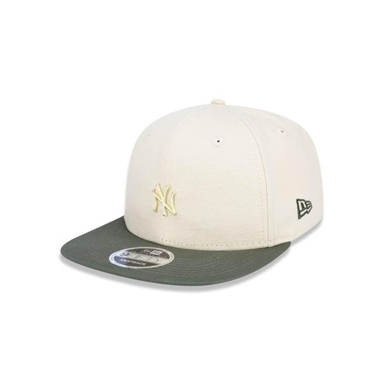Boné 950 Original Fit New York Yankees MLB Aba Reta Snapback New Era - Cáqui 75c729888c9