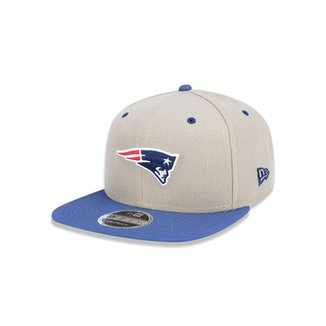 73f8d3460aa66 Boné 950 Original Fit New England Patriots NFL Aba Reta Snapback New Era