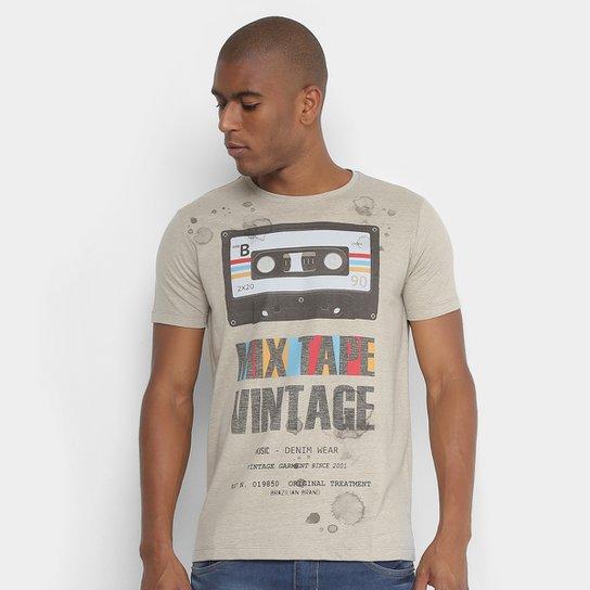 e3ff0c5403e Camiseta Sideway Estampada Mix Tape Vintage Masculina - Compre Agora ...