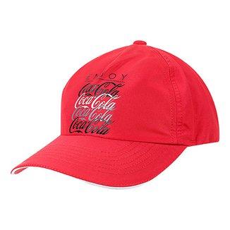 4f6477fbf1b Boné Aba Curva Coca-Cola Masculino