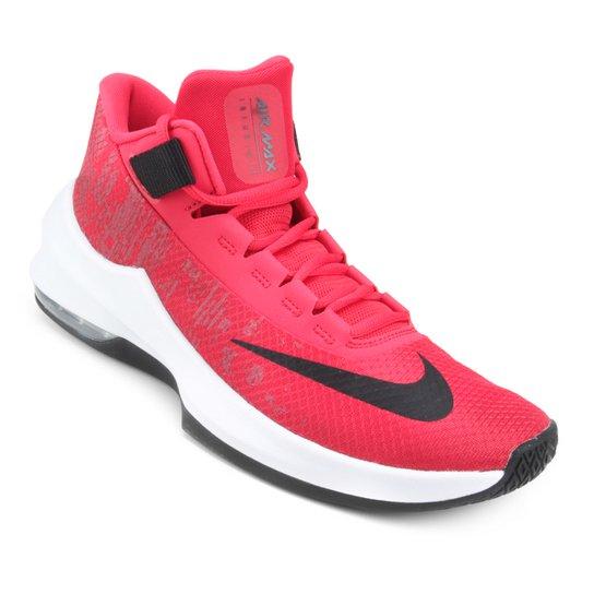 2cd27575a5e Tênis Nike Air Max Infuriate 2 Mid Masculino - Vermelho e Preto ...