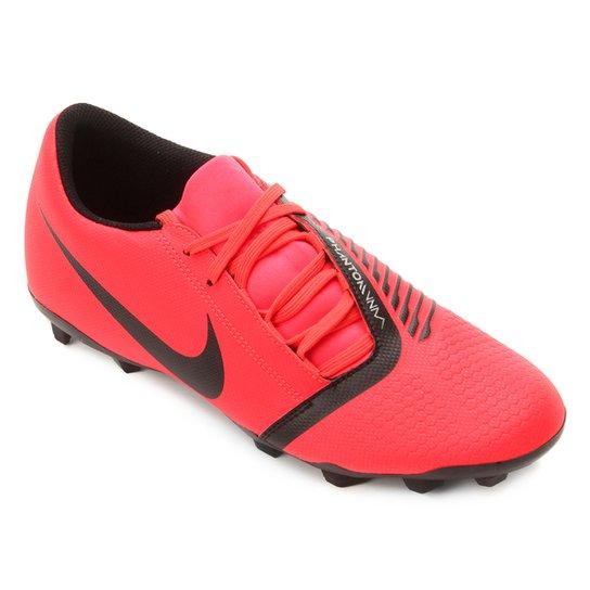 e43e581e8571b Chuteira Campo Nike Phantom Venom Club FG - Vermelho e Preto | Netshoes