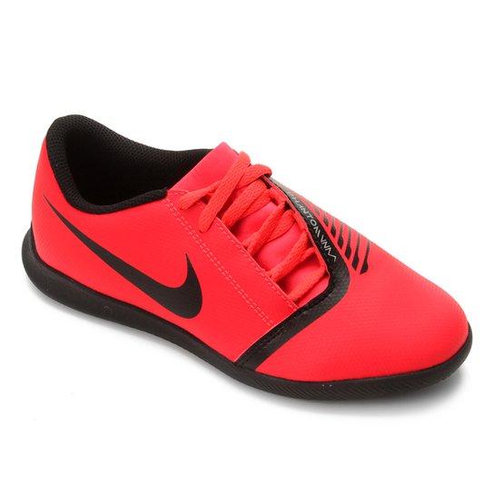 b449b1c96c Chuteira Futsal Infantil Nike Phantom Venom Club IC - Vermelho e ...