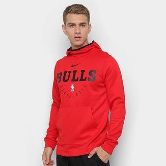 Moletom Nike NBA Chicago Bulls Spotlight Masculino c92d14c1fec79
