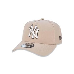 Boné 920 New York Yankees MLB Aba Curva Strapback New Era - Compre ... d90e0366fff