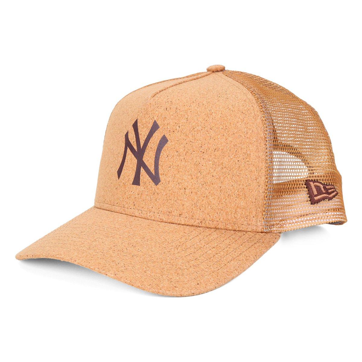 Boné New Era NBA New York Yankees Aba Curva Snapback 940 Summer Cork