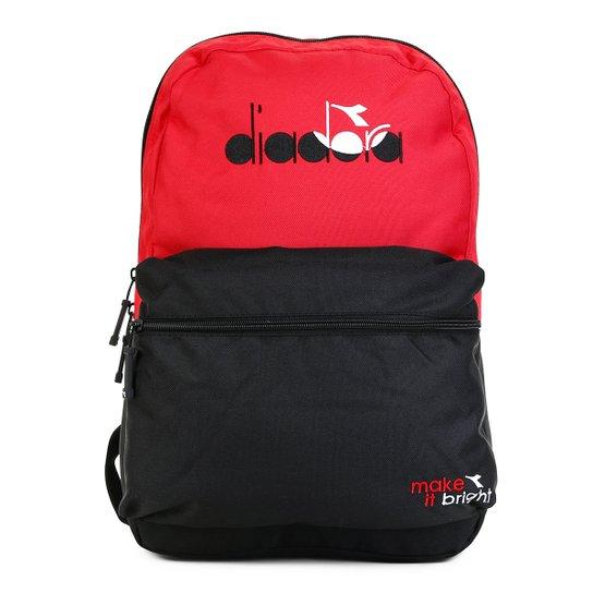 bdf072cb2 Mochila Diadora Heritage - Vermelho e Preto | Netshoes