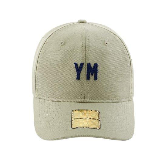 Boné Aba Curva Young Money Strapback Dad Hat Ym - Cáqui - Compre ... dc516cd1620