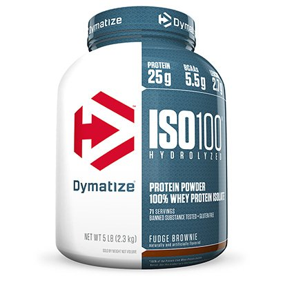ISO 100 Whey Zero Carb 5 Lbs - Dymatize Nutrition