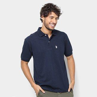 b3c79d15d9 Camisa Polo U.S. Polo Assn Lisa Masculina