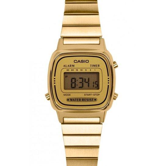 bd025c242eb Relógio Casio - La670Wga-9Df - Compre Agora
