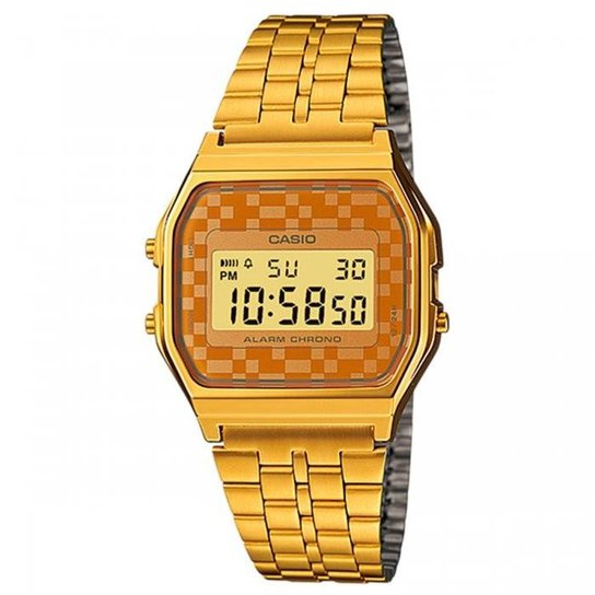 23d8f9de635 Relógio Casio Digital Vintage A159WGEA-9ADF - Compre Agora