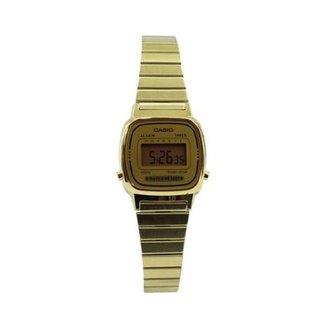 a69146a9757 Relógio Casio Vintage LA670WGA-1DF