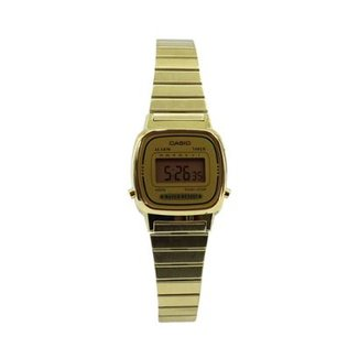 51fe519c873 Relógio Casio Vintage LA670WGA-1DF