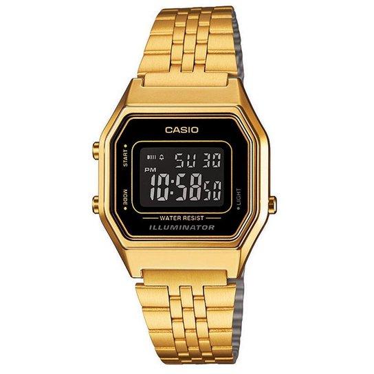 355fb68bd9a Relógio Casio Feminino Vintage La680Wga-1Bdf - Compre Agora