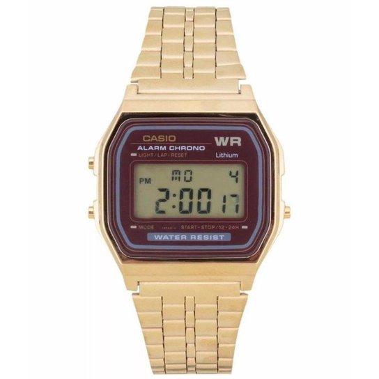 464223cb39f Relógio Casio - A159Wgea-5Df - Dourado - Compre Agora