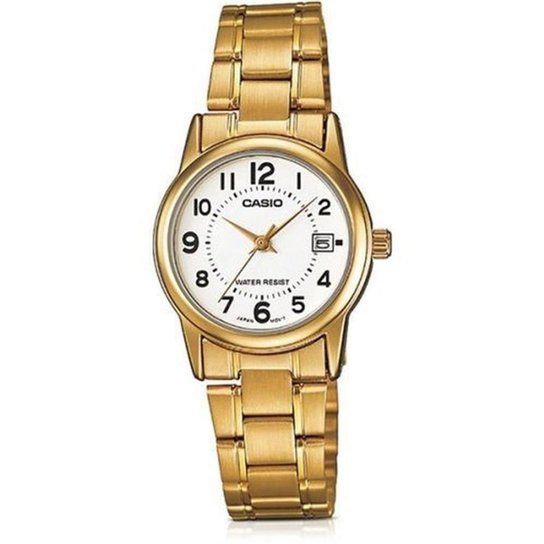 fd5d6f9c1fa Relógio Feminino Casio Collection - Dourado - Compre Agora