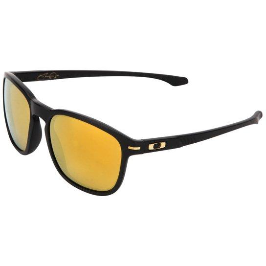 a56b1269d8e3b Óculos Oakley Shaun White Signature Series Enduro - Iridium - Preto+Dourado