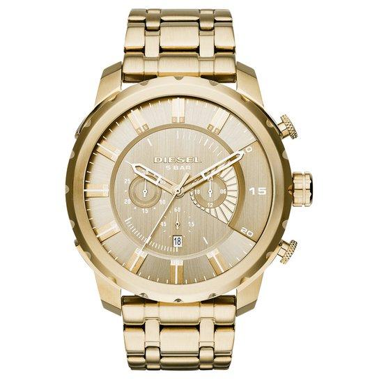 eb8c108b7b0 Relógio Diesel Pulseira Dourada - Compre Agora