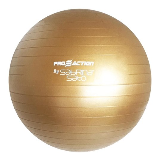 Bola Para Pilates Gym Ball Proaction By Sabrina Sa - Compre Agora ... d0f6e49836062