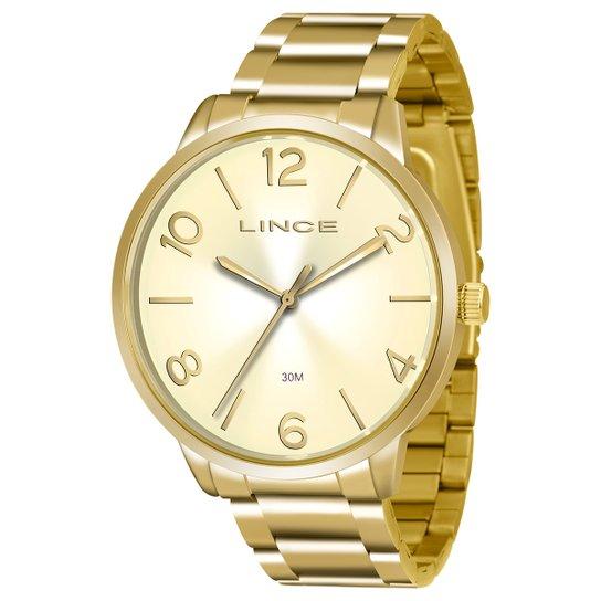 f0a6d8b56d8 Relógio Lince Analógico LRGJ045L-C2KX Feminino - Compre Agora