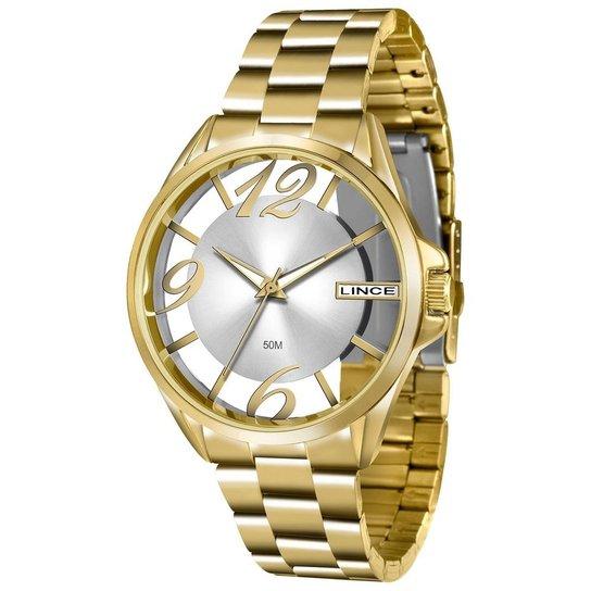 0e310a2f72e Relógio Feminino Lince Lrg604l S2kx - Dourado - Compre Agora