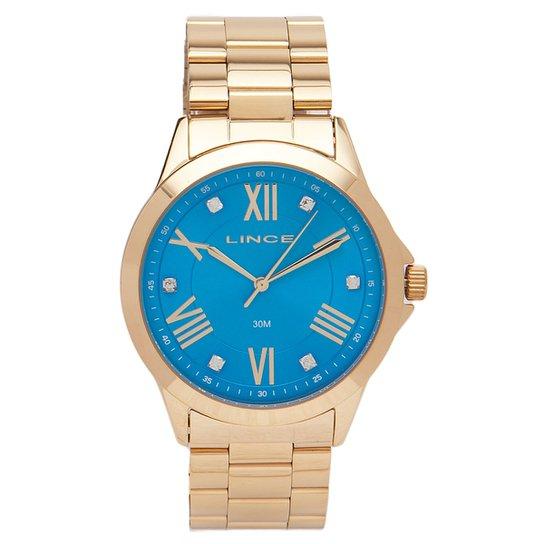 75822a5ee60 Relógio Feminino Analógico Lince A3kx - Dourado - Compre Agora ...