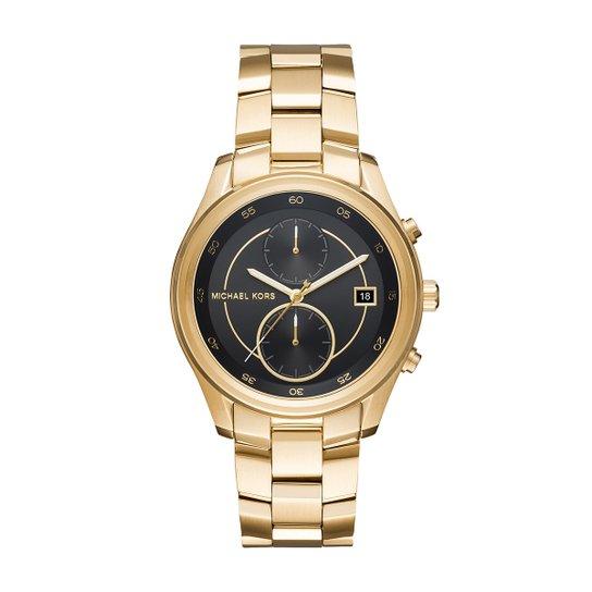 422fc09d99216 Relógio Michael Kors Masculino Analógico MK6497 - Dourado - Compre ...